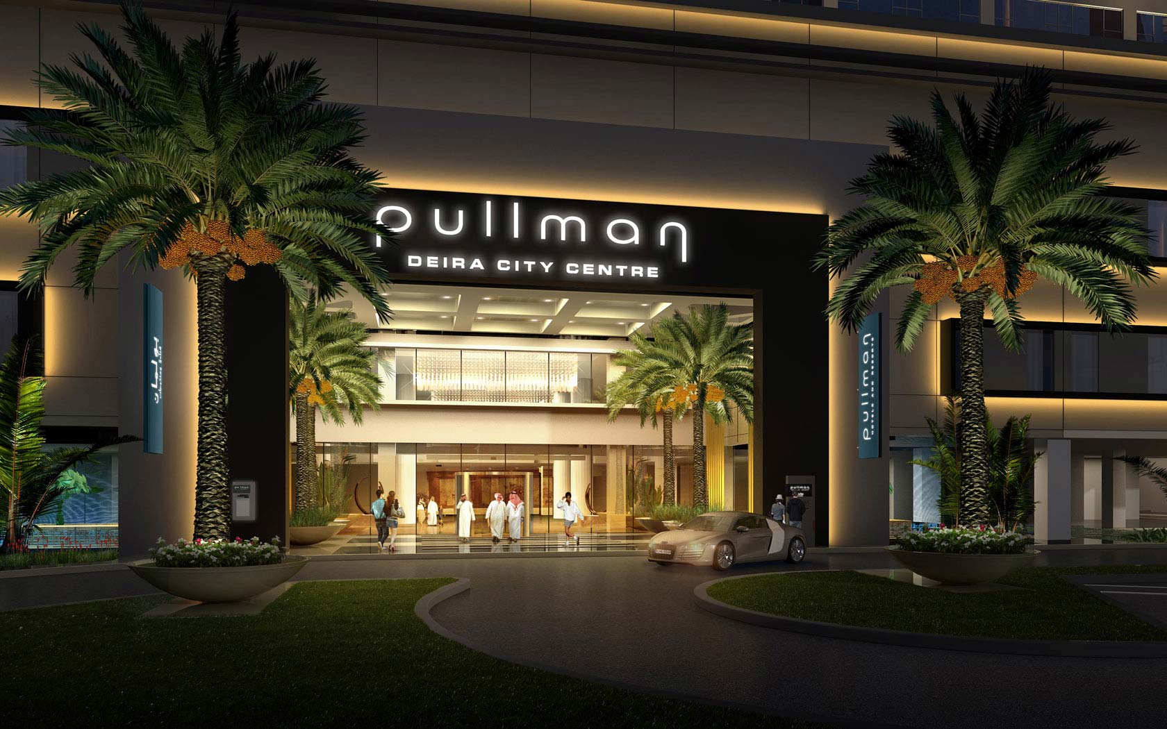 Delta lighting solutions projects pullman hotel for Pullman hotel